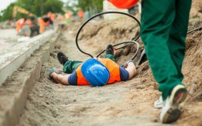 Wypadki przy pracy – rok 2016 wliczbach